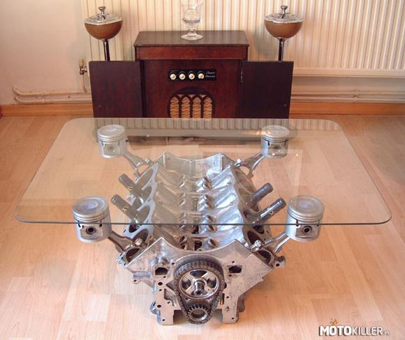 Stolik Ze Silnika V8