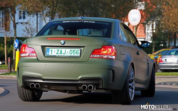 BMW 1M Coupe – zielony mat
