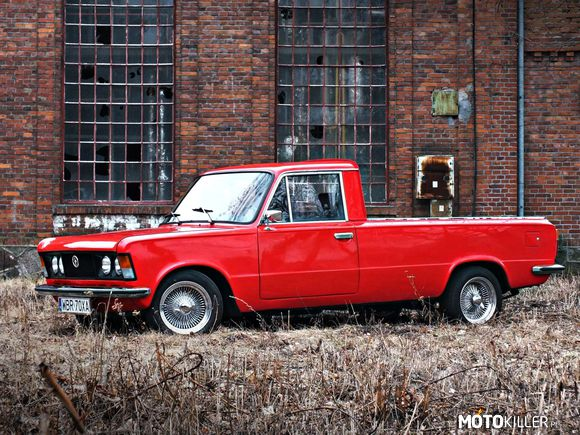 Groovy Fiat 125p Pick-up Custom EA55