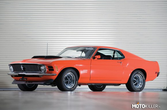 Classic muscle cars – Ford mustang boss 429 '70