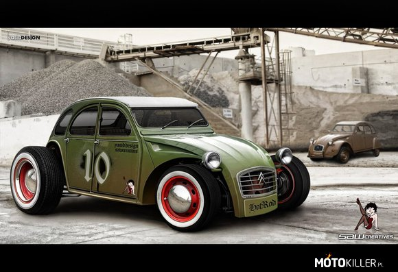 Citroen 2CV Hot Rod –