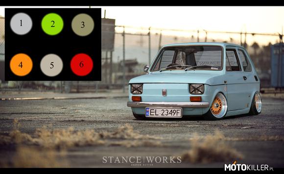 Fiat 126p Virtual Tuning