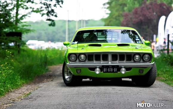 Plymouth Barracuda 440 Hardtop 1970 Ivy Green –