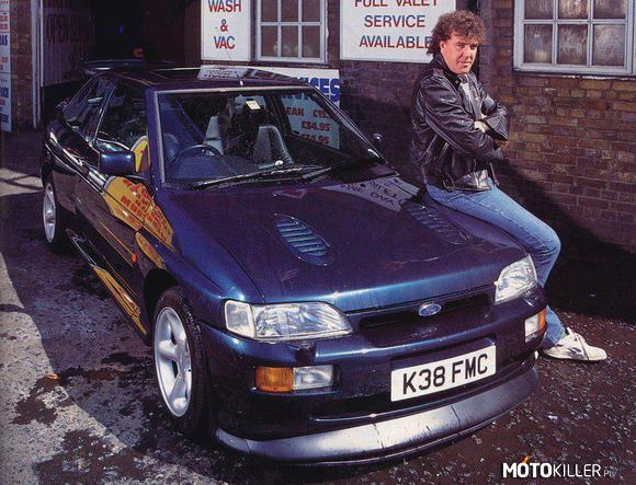 Jeremy Clarkson & Ford Escort Cosworth –