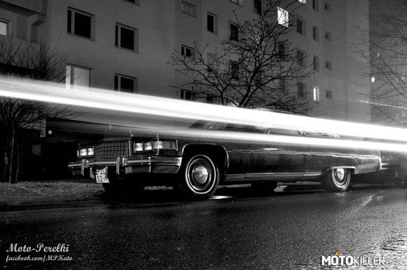 Cadillac Fleetwood. Old is gold – strona autora: http://www.facebook.com/MPKato