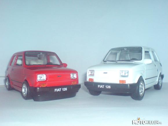 Model Fiata 126p Skala 1 24