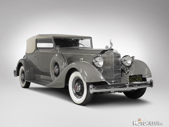 Packard Super Eight Convertible Victoria  1934 –