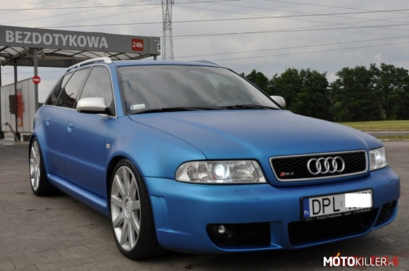 Audi rs4 b5 kolor 3m blue matt metalic for Mercedes benz b5 service