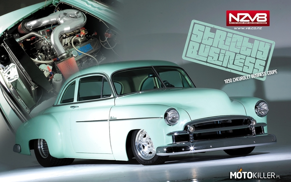 Chevrolet Business Coupe Pro Street 1950 –