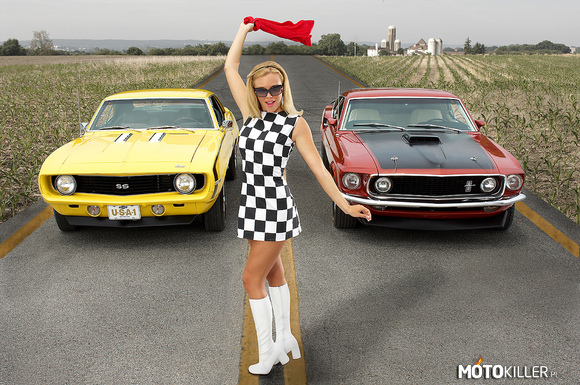 Chevy Camaro SS vs. Ford Mustang Mach 1 –