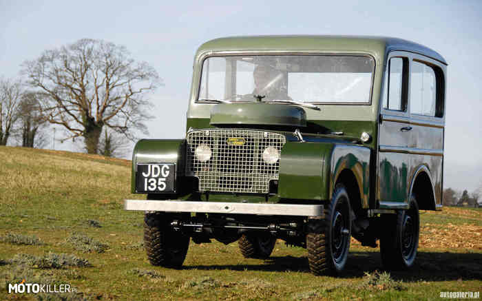 80 Station Wagon – Land Rover Rok: 1950