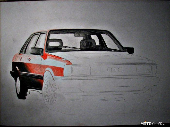 Audi 80 b2 quattro w i p for Mercedes benz b2 service