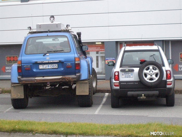 Land Cruiser vs. Freelander – Islandia