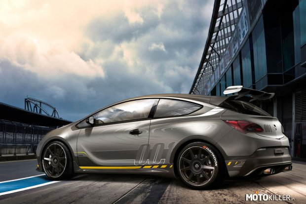 Opel Astra OPC Extreme –