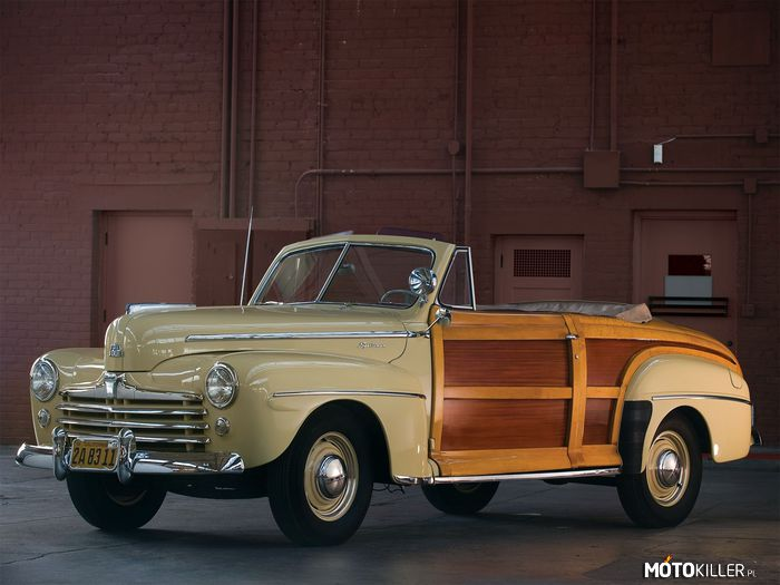 Ford Super Deluxe  Sportsman Convertible 1948 –