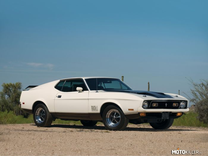 Ford Mustang Mach I 429  1971 –