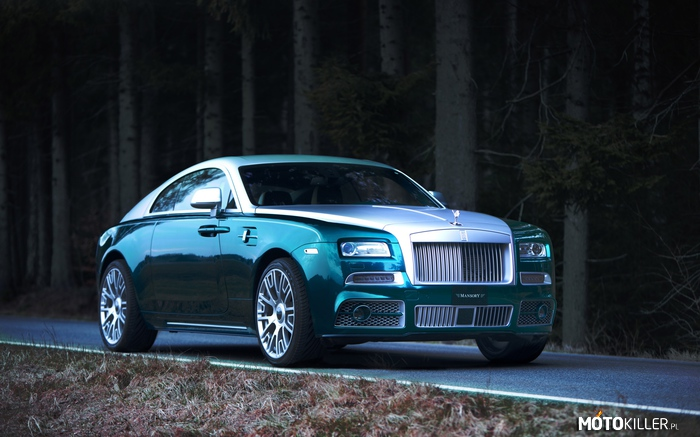 Rolls-Royce Wraith by Mansory –