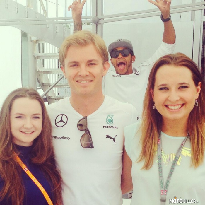 Rosberg trolled – By Hamilton.