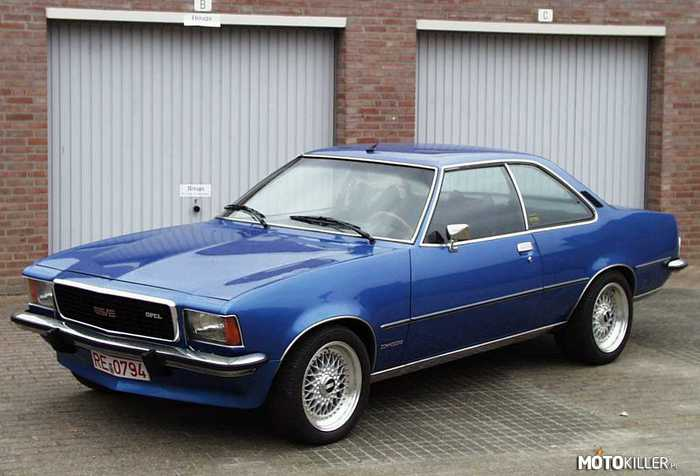 Opel Commodore Coupe –