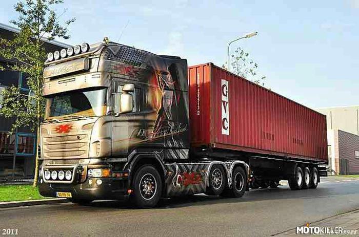 Scania longline r730 v8 for Interieur scania longline