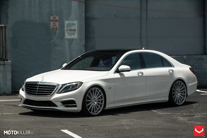 "Mercedes-Benz S550 – 2014 Mercedes-Benz S550 tuned by RENNtech, 22"" VFS-2 - Executive Package."