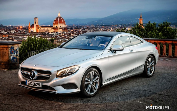 Mercedes-Benz S500 Coupe –