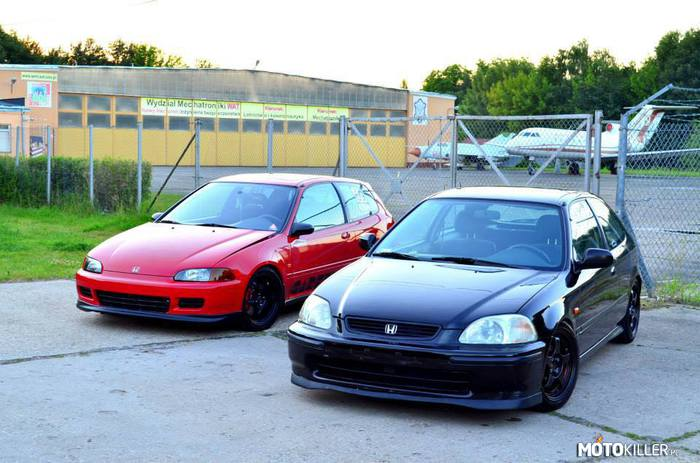 Civic EG6 b16a2 Turbo oraz Civic EJ9 b16a2 –