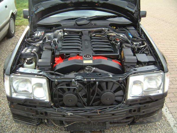 Mercedes benz brabus v12 7 3 w124 for Mercedes benz v12 engine