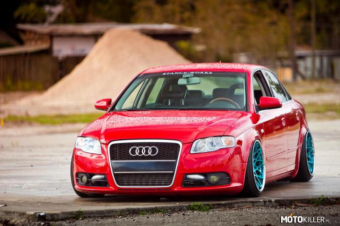 Audi RS4 – German style.