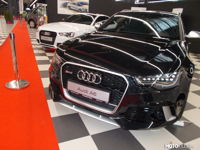 RS6 i S5 – Ptak Expo - Audi RS6 i S5.