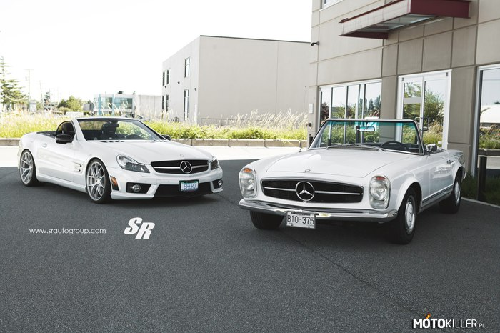 Mercedes-Benz 230SL & SL63 –
