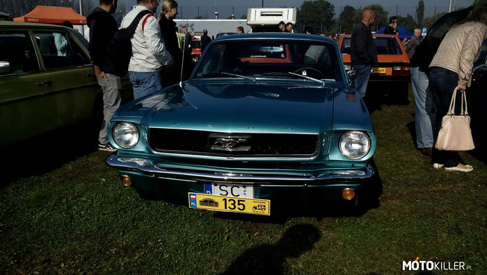 Ford Mustang – Ford mustang z 1967 roku.