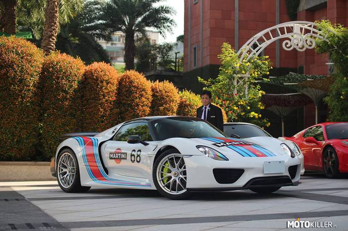 Martini Racing – Porsche 918 Spyder