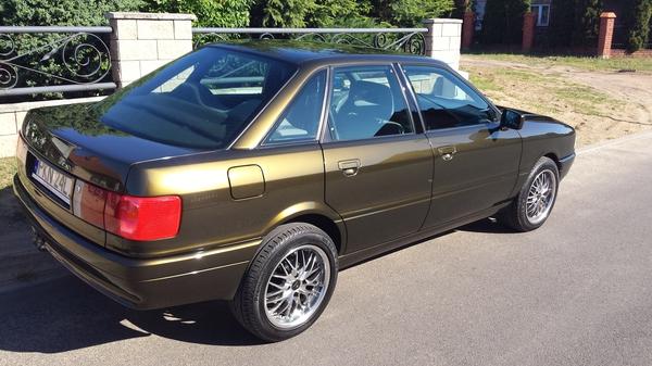 Audi 80 b3 projekt zako czony for Mercedes benz service b3