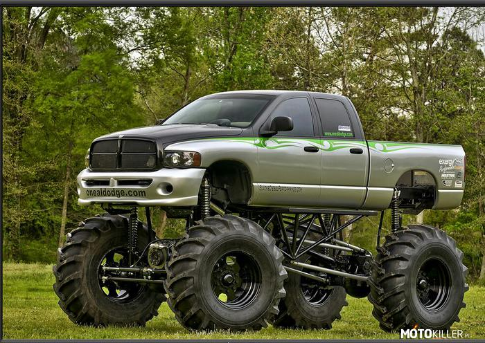 Dodge RAM 1500 Lifting – Idealny na off road.