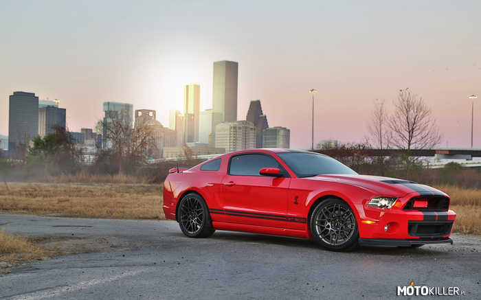 Ford Mustang Shelby GT500 –