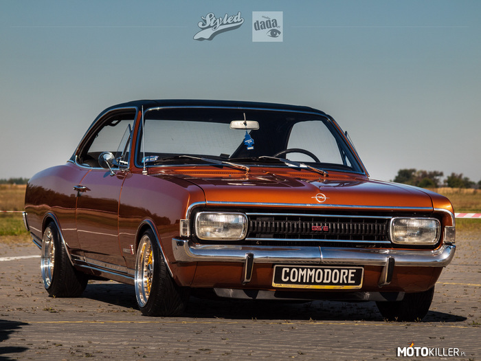 Opel Commodore A Coupe –