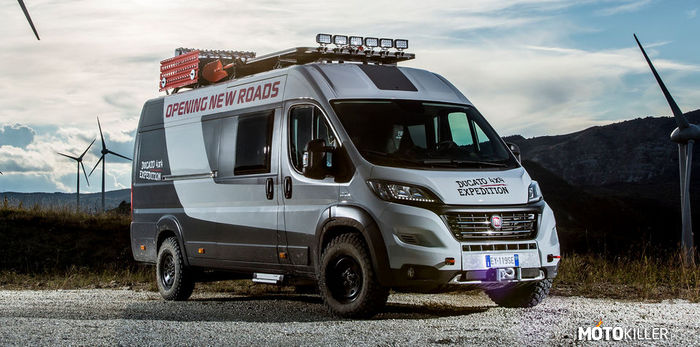 Koncept: Fiat Ducato 4×4 Expedition –