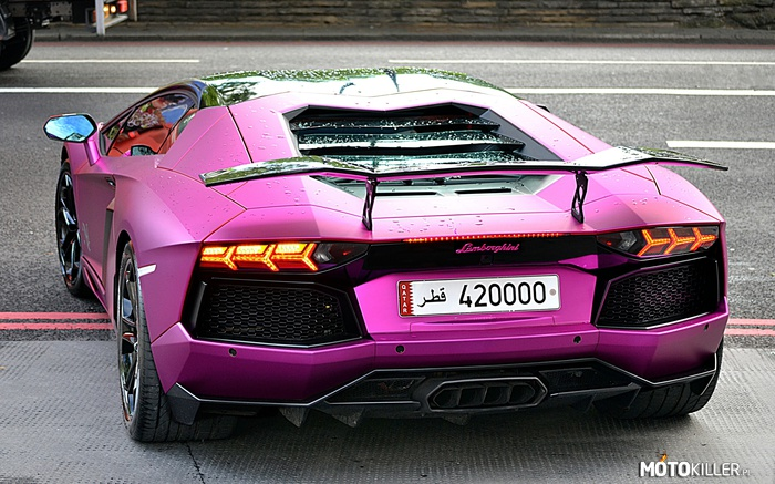 Lamborghini Aventador LB Performance Kit Adv.1 Violet Luxury –