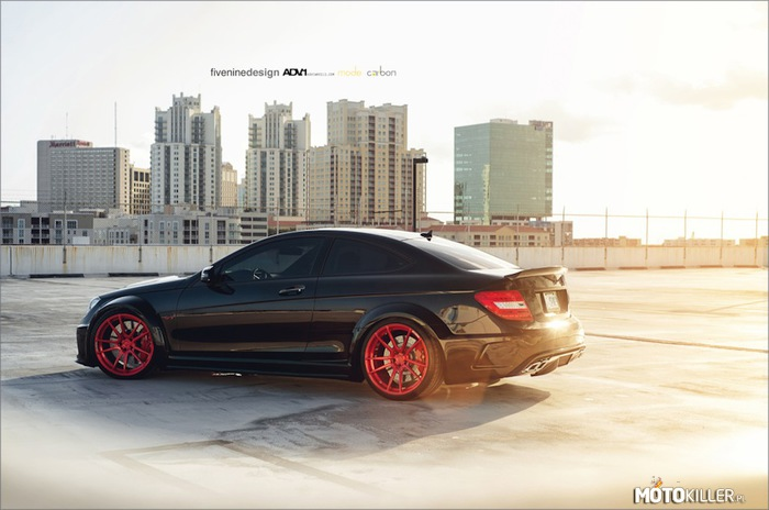 Mercedes c63 AMG Black Series –