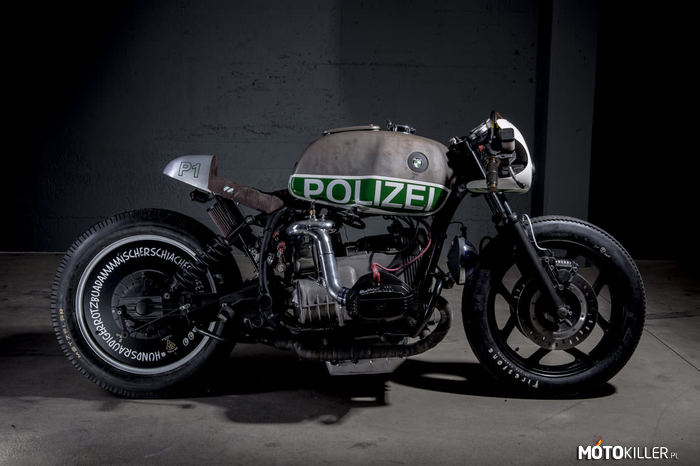BMW R80 Police by VTR Customs –