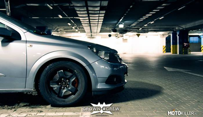 Astra GTC CROWN #CREW – Astra GTC na zimie.