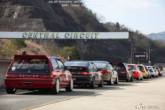 Track Day – Hondy na Central Circuit w Japonii.
