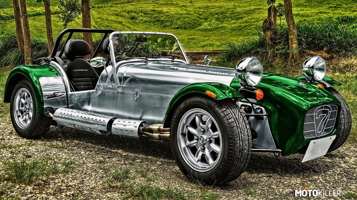 Caterham Lotus Super 7 –