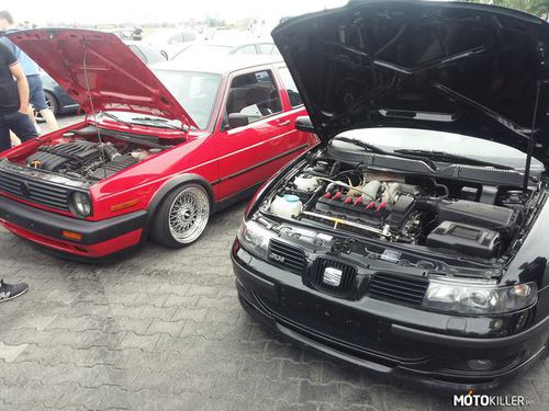 Seat Toledo R36 Turbo & VW Golf II R36