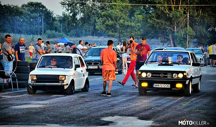 Polonez Akwarium 2.0 D0HC vs Maluch 650 SzToS – Warsaw Night Racing