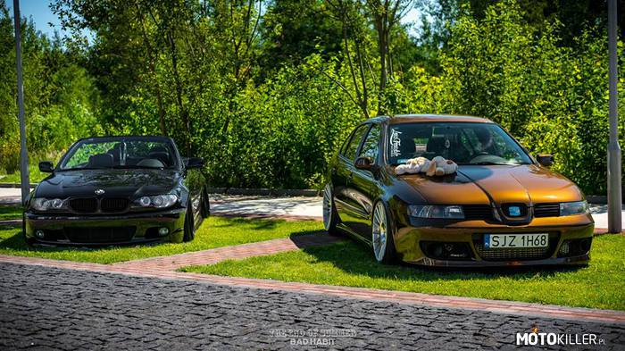 BMW & SEAT (the end of summer Siemianowice) – Autor foto BAD HABIT