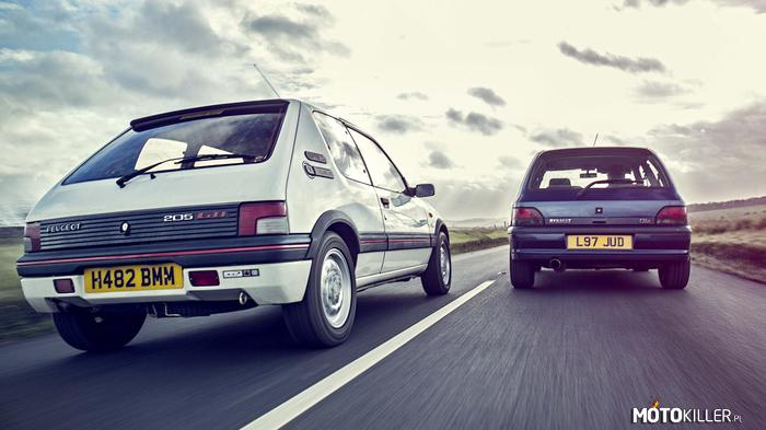 Peugeot 205 GTI & Clio I Williams –