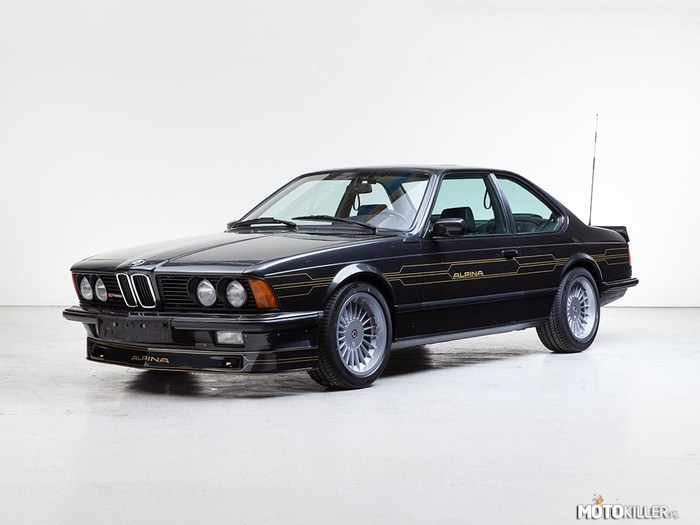 Alpina B7 Turbo Coupe –