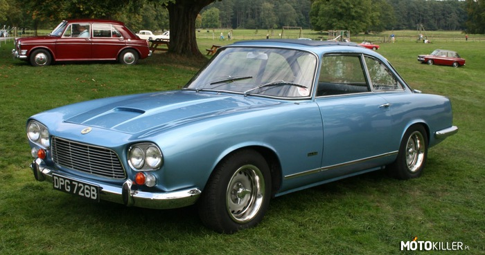Gordon-Keeble Coupé 1965 – 4.6L V8 300 KM 0-100km/h - 6,2s V-max 233 km/h